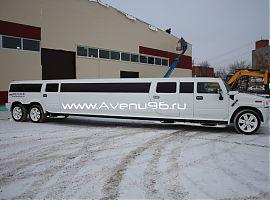 Заказать лимузин в Екатеринбурге: Хаммер