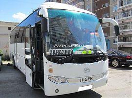 Аренда автобуса Екатеринбург: Хайгер