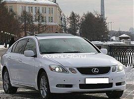 Аренда автомобилей в Екатеринбурге: Лексус GS300