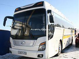 Аренда автобусов в Екатеринбурге: Хёндэ Универсе