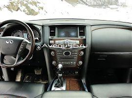 Аренда Инфинити QX56 с водителем в Екатеринбурге