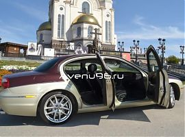 Прокат автомобилей в Екатеринбурге: Ягуар S-type