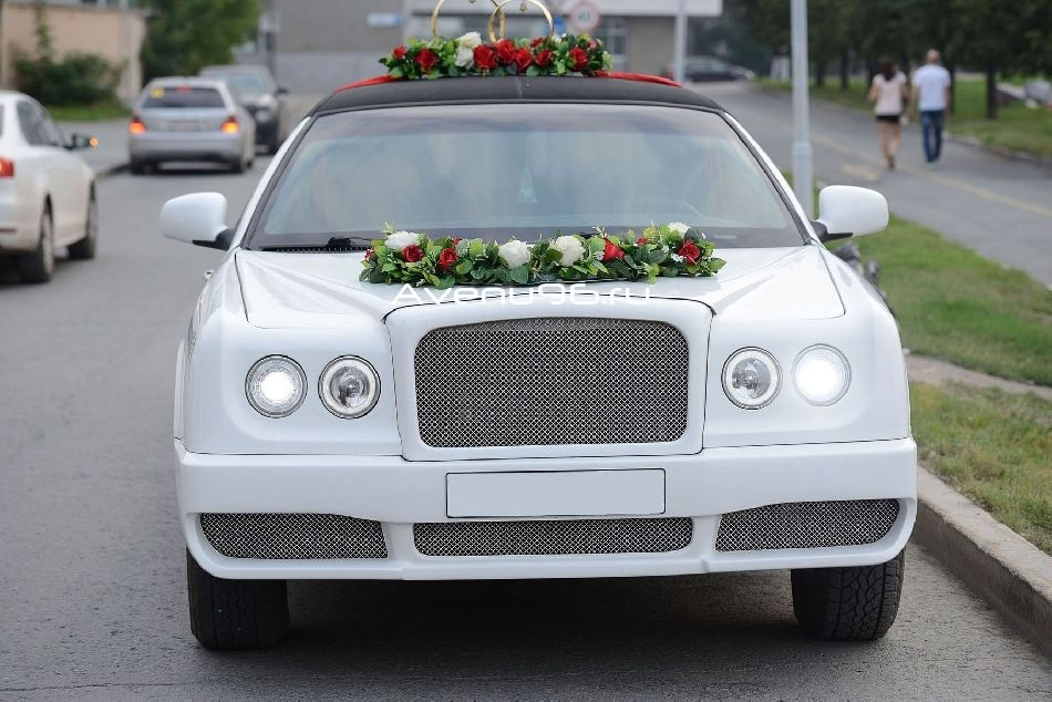 лимузин на свадьбу bentley arnage style 10 мест в екатеринбурге