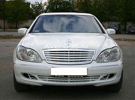 Аренда лимузина Мерседес S500W220 в Екатеринбурге