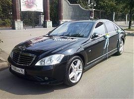 Аренда Мерседес S500W221Long в Екатеринбурге