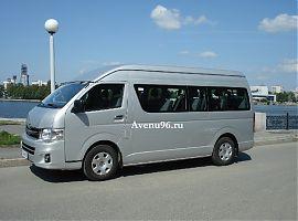 Аренда микроавтобуса Тойота Хайс в Екатеринбурге