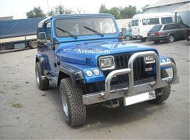 Прокат Jeep Wrangler в Екатеринбурге