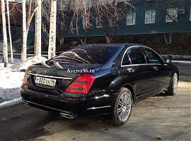 Аренда представительских автомобилей: Мерседес S5000W221L