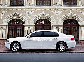 Аренда белой БМВ 750I в Екатеринбурге