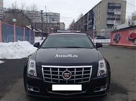 Аренда Кадиллак CTS в Екатеринбурге