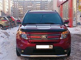 Аренда красного автомобиля Форд Эксплорер Спорт Екатеринбург