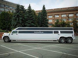 Прокат лимузина в Екатеринбурге ХаммерH2 30 мест