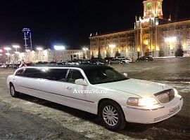 Прокат лимузина в Екатеринбурге Линкольн Таун Кар