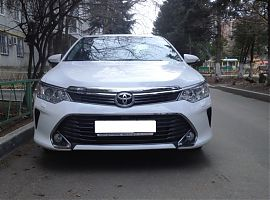 Прокат Тойота Камри с водителем в Екатеринбурге