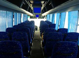 Аренда автобуса Ютонг в Екатеринбурге, цвет белый