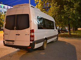 Заказ микроавтобуса Мерседес Спринтер люкс 20 мест