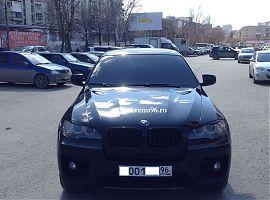 Аренда БМВ Х6 в Екатеринбурге