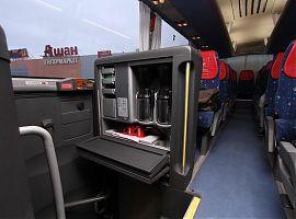 Аренда автобуса Man Lions Coach VIP в Екатеринбурге, цвет белый