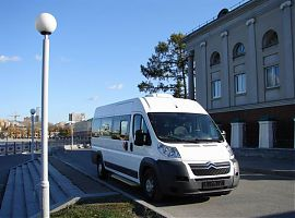 Аренда микроавтобуса Ситроён Джампер в Екатеринбурге
