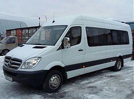 Заказ микроавтобусов Мерседес Спринтер в Екатеринбурге