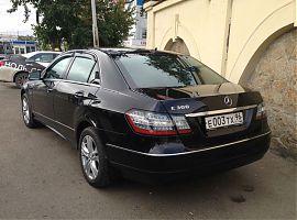Аренда Мерседеса E300 W212 в Екатеринбурге с водителем