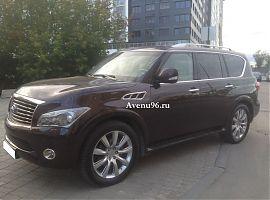Заказ автомобиля Инфинити QX56 в Екатеринбурге