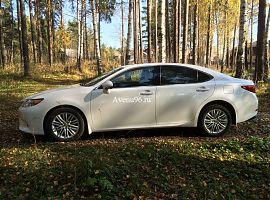 Прокат автомобилей в Екатеринбурге: Lexus ES250