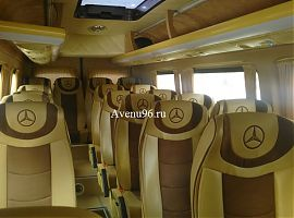 Аренда микроавтобуса Мерседес Спринтер VIP в Екатеринбурге