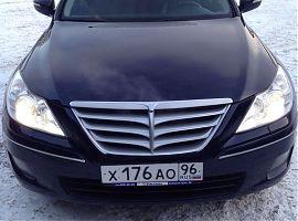 Прокат автомобиля Хёндэ Генезис в Екатеринбурге