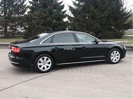 Прокат автомобиля Audi A8 Long в Екатеринбурге