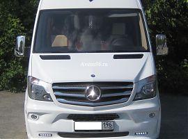 Заказ микроавтобуса в Екатеринбурге: Мерседес Спринтер VIP