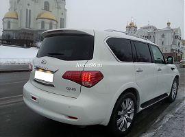 Аренда Инфинити QX80 в Екатеринбурге