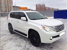 Лексус GX460 прокат в Екатеринбурге