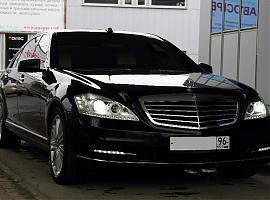 Прокат МерседесS500W221L Екатеринбург