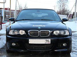 Аренда чёрного кабриолета БМВ в Екатеринбурге