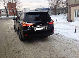 Аренда Лексус LX 570 с водителем в Екатеринбурге