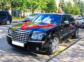 Прокат чёрного Крайслер 300С в Екатеринбурге