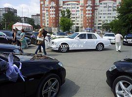 Кортеж из 13 автомобилей Марки Мерседес S-class, E - class