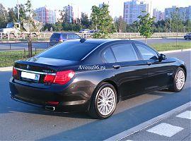 Аренда автомобиля БМВ750 в Екатеринбурге