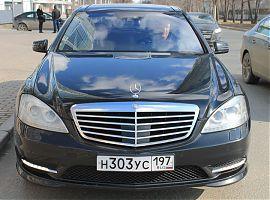 Аренда Мерседес S500W221L в Екатеринбурге