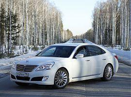 Аренда VIP авто Хёндэ Экус в Екатеринбурге