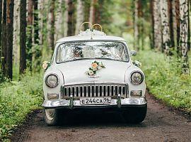 Советский ретро автомобиль - классика жанра Волга 21