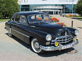 Прокат ретро авто ЗиМ в Екатеринбурге на свадьбу
