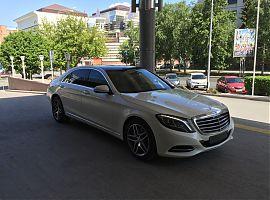 Аренда белого Мерседес 222 Екатеринбург