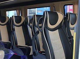 Прокат микроавтобуса Мерседес Спринтер VIP в Екатеринбурге