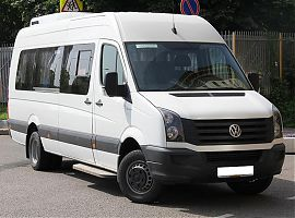 Заказ микроавтобуса в Екатеринбурге: Фольксваген Крафтер