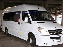 Аренда микроавтобуса в Екатеринбурге - Мерседес Спринтер VIP