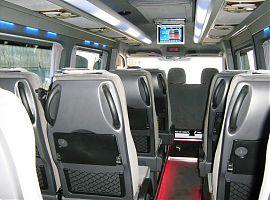Заказать микроавтобус в Екатеринбурге Мерседес Спринтер