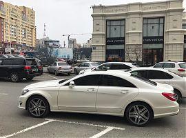 Аренда белого Мерседес CLS AMG в Екатеринбурге