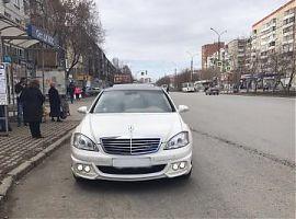 Прокат белого Мерседеса на свадьбу Екатеринбург